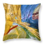 The Spirit Of Rock 'n' Roll Throw Pillow