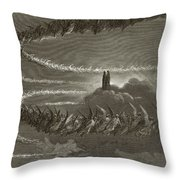 The Spirits In Jupiter Throw Pillow