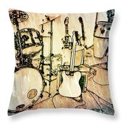 The Stage  Throw Pillow