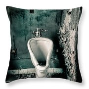 The Stall Throw Pillow