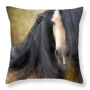 The Stallion Throw Pillow