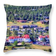 The Stanley A Grand Heritage Hotel Throw Pillow