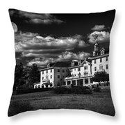 The Stanley Hotel Throw Pillow