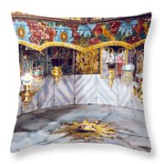 The Star Close Up 1950 Throw Pillow