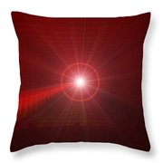 The Star Tunnel Throw Pillow by Jeff Swan