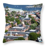 The State House Throw Pillow