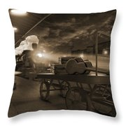 The Station 2 Throw Pillow