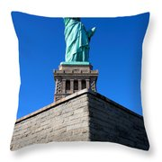 The Statue Throw Pillow