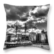 The Stavros N Niarchos London Throw Pillow