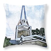 The Steeple Throw Pillow