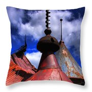 The Steeples Throw Pillow