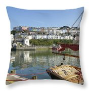 The Stern Throw Pillow