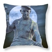The Stone Mason Throw Pillow