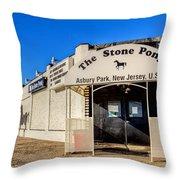 The Stone Pony Asbury Park New Jersey Throw Pillow