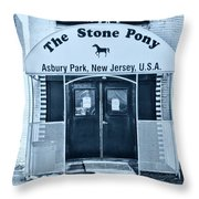The Stone Pony Cool Throw Pillow