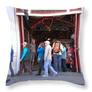 The Store Front Throw Pillow