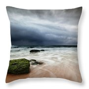 The Storm Throw Pillow by Jorge Maia