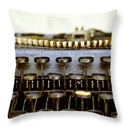 The Story Told 2 Throw Pillow