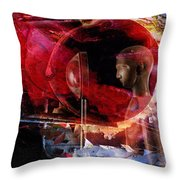 The Storytelling Hour Throw Pillow