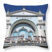 The Strand Key West Throw Pillow