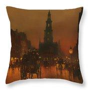 The Strand - London 1899 Throw Pillow