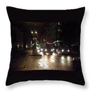 The Strand London Throw Pillow
