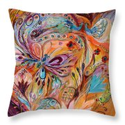 The Stream Of Life Part II Throw Pillow