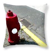 The Street Talks  Throw Pillow