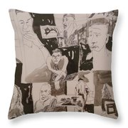 The Struggle For Independence Throw Pillow
