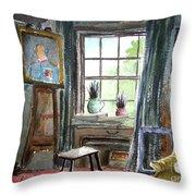 The Studio Of Juliet Pannett Throw Pillow