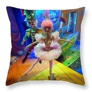 The Sugarplum Fairy Throw Pillow