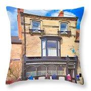 The Sun Inn Throw Pillow