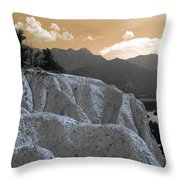 The Sun Let Down  Throw Pillow