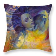 The Sun The Moon And The Truth Throw Pillow