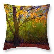 The Sunoka Tree Throw Pillow