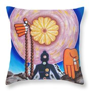 The Supreme Power Of Chakras Throw Pillow