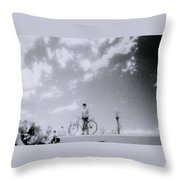 A Surreal Day Throw Pillow