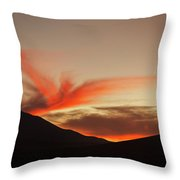 The Surreal Landscape Of Bolivia S Throw Pillow