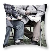 The Surrender Throw Pillow