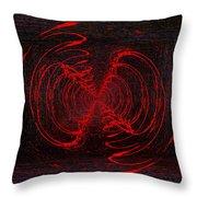 The Swarm Throw Pillow