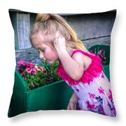 The Sweat Aroma  Throw Pillow by Rob Sellers