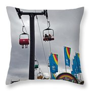 The Sweet Spot Throw Pillow by Skip Willits