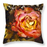 The Sweetest Rose 1 Throw Pillow