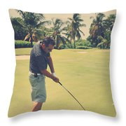 The Swing Of Things Throw Pillow