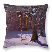 The Swinger Throw Pillow
