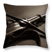 The Sword Of Aragorn 2 Throw Pillow