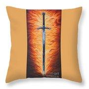 The Sword Of The Spirit Throw Pillow