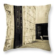 The Synagogue Throw Pillow