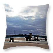 The T1 Bridge Throw Pillow