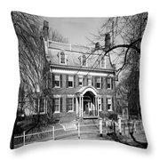 The Taft House - Brown University 1958 Throw Pillow
